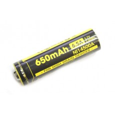 Аккумулятор IMR 14500 Nitecore NL14500A 650mAh