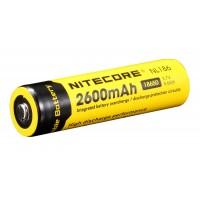 Аккумулятор 18650 Li-Ion Nitecore NL186 2600mAh