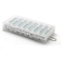 Пластиковый бокс для аккумуляторов AA Soshine SBC-022  (8 штук)