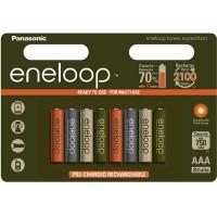 Аккумулятор Panasonic Eneloop 800 mAh AAA BK-4MCCE/4BE Expedition 8 штук