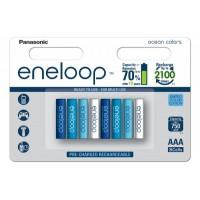 Аккумулятор Panasonic Eneloop 800 mAh AAA BK-4MCCE/4BE Ocean Colors 8 штук