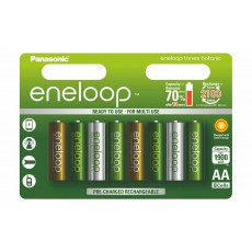 Аккумулятор Panasonic Eneloop 800 mAh AAA BK-4MCCE/4BE Botanic 8 штук