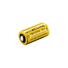 Литиевая батарея NiteCore CR123A 3V 4 штуки