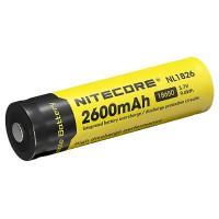 Аккумулятор 18650 Li-Ion Nitecore NL1826 2600mAh