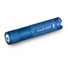 .Fenix E05 Blue (27 ANSI люмен, ААА)