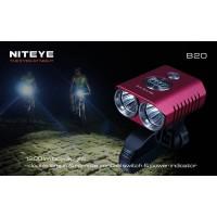 .NitEye B20 - Велофара (1200 ANSI люмен)