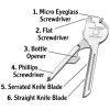 Swiss+Tech Utili-Key 6-in-1