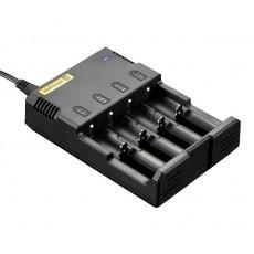 .Зарядное устройство Nitecore Intellicharger (Sysmax) I4 (2014)