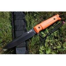 нож Kizlyar Supreme Delta AUS-8 Black Orange