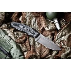 нож Kizlyar Supreme Urban AUS-8 Stonewash Micarta