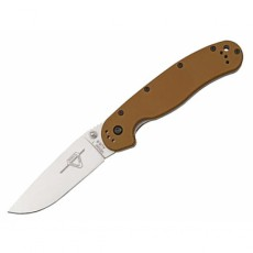 нож Ontario RAT 1 Coyote Brown, Satin Blade